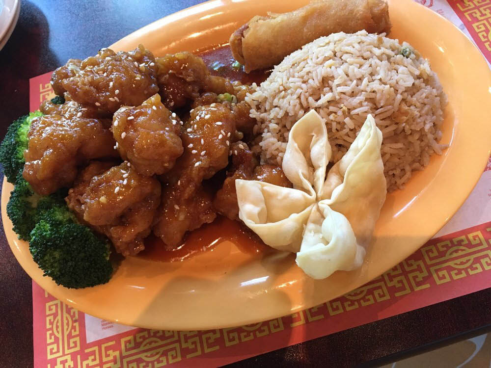 Singapore Chinese & Indochina Restaurant Food Plate