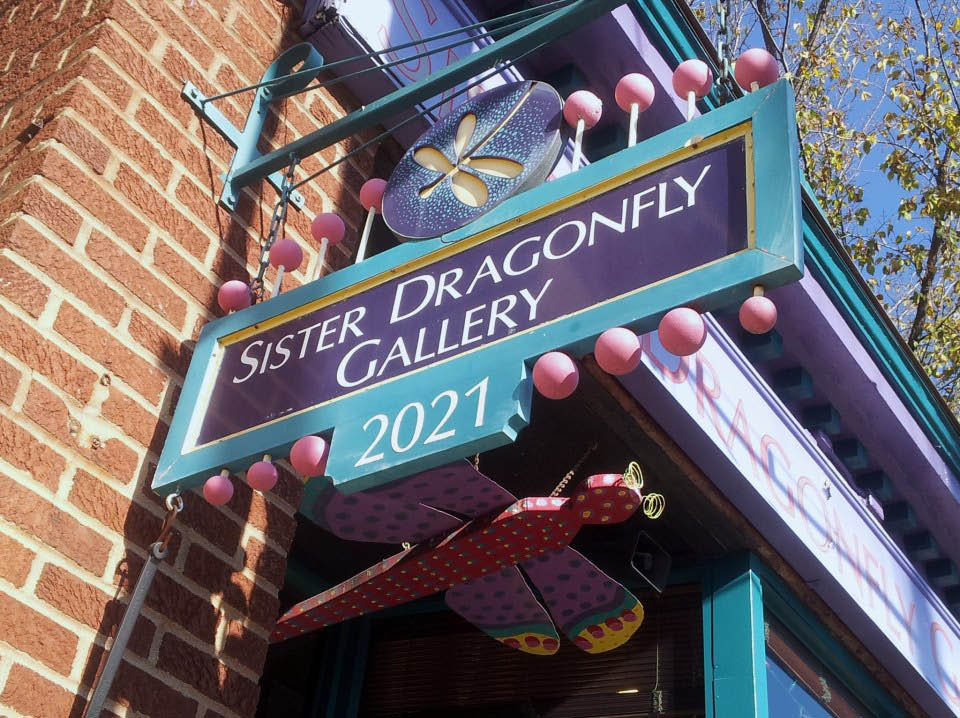 Sister Dragonfly Gallery and boutique in Louisville KY