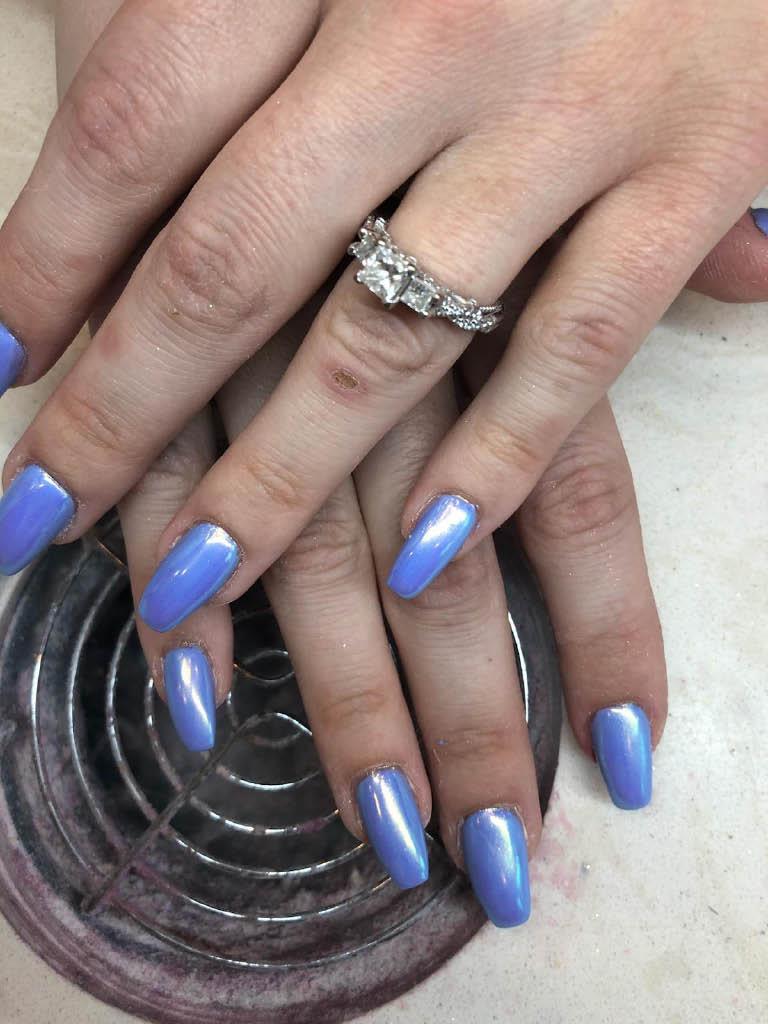 Sky-blue-nails