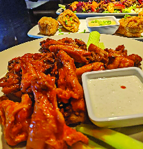 slatts pub bar and grill wings blue ash ohio