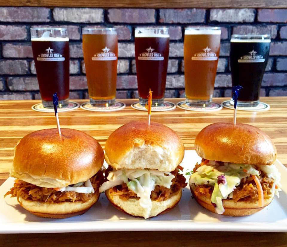 Burgers and craft beer near Elkhorn