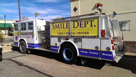Smile Department Fire Truck