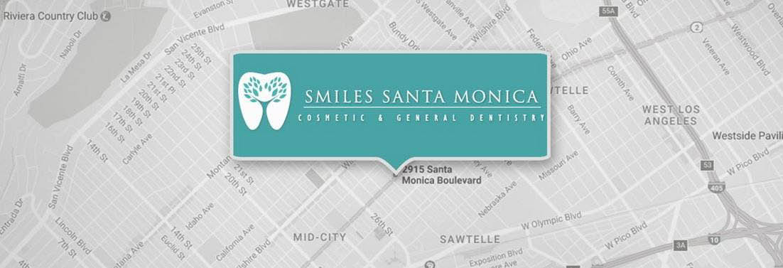 Smiles Santa Monica Banner ad