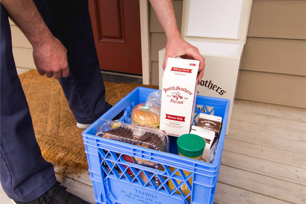 Quality fresh food delivered right to your door from the milkmen at Smith Brothers Farms