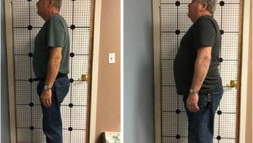 Before and after photos of Bob who lost 64 pounds in 4.5 months on the Ideal Protein weight loss program from Snoqualmie Valley Weight Loss Center in North Bend, WA - weight loss centers near me