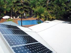 Solar energy near Kailua