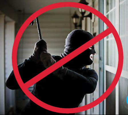 Soldier Home Security - prevent home invasions with mobile monitoring and a home security system - prevent home break ins