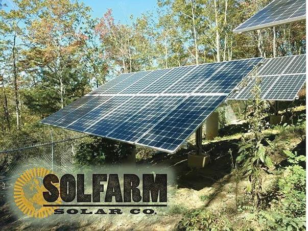 SolFarm Solar Ground Panels