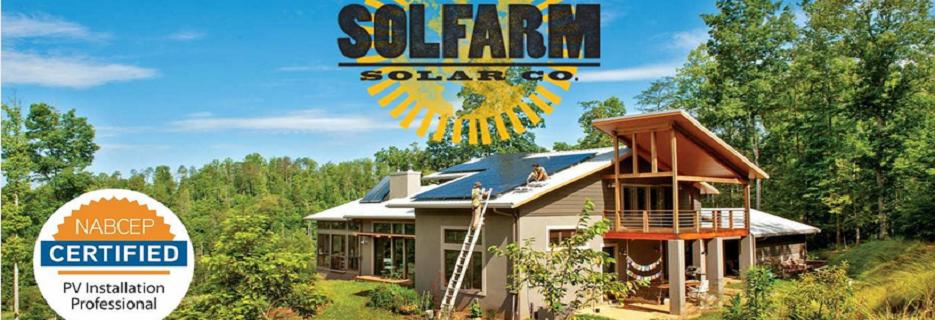 SolFarm Solar Co. in Asheville N. Carolina banner