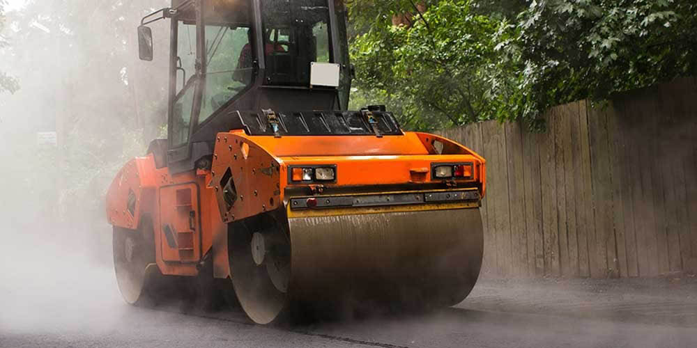 Commercial street paving services