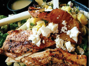 Blackened Grilled Chicken With Goat Cheese in Arrington
