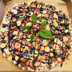 Nutella Pizza from Sorrento's Pizza in Mendham NJ