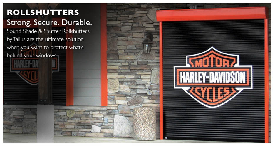 Sound Shade & Shutter - Tumwater, Washington - roll shutters - strong, secure, durable - rollshutters by Tailus are the ultimate solution when you want to protect what's behind your windows.