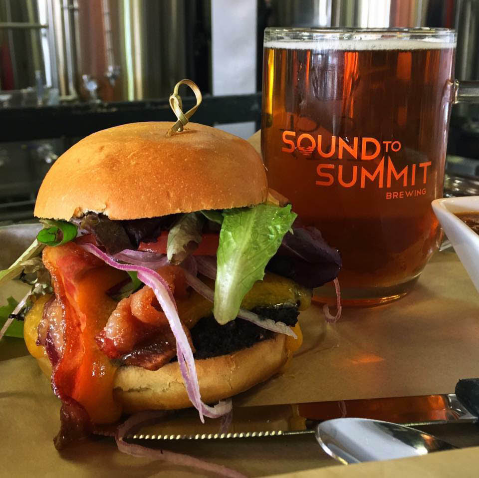 Sound to Summit Brewing - burger and beer - Snohomish restaurants - Snohomish brewpub - Snohomish, Washington