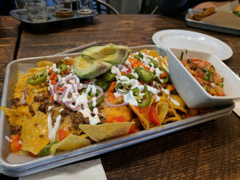 Nachos - Sound to Summit Brewing - Snohomish, WA - restaurants in Snohomish - Snohomish restaurants - Snohomish bars - Snohomish pubs