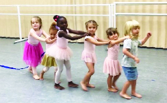 Dance classes at Southern Dance Theatre are available for all ages and levels.