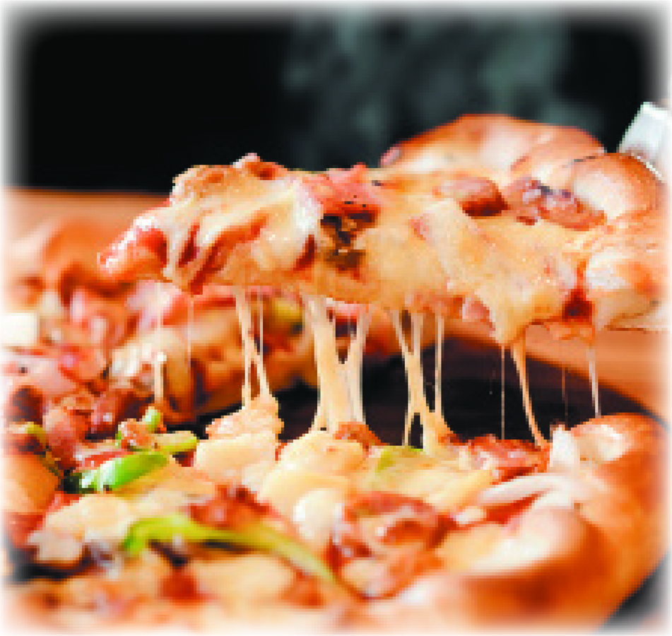 Hand-tossed Pizza