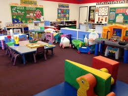 colorful, organized classroom at Southwest Child Care Center in New Mexico