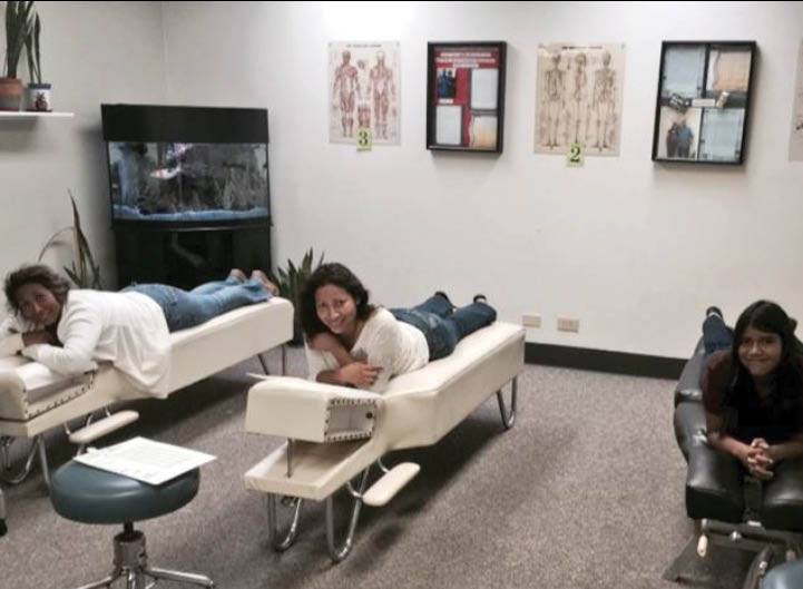 Patients are kept comfortable at their office visit