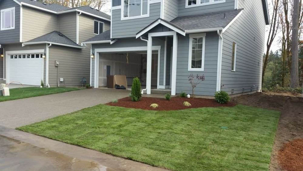 Beautiful landscaping from Benny & Sons Landscaping in Spanaway, Washington - professional landscaping near me - professional landscapers near me - lawn care - landscaping coupons