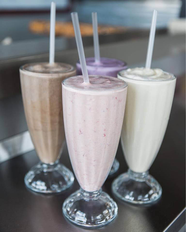 Hand spun milkshakes served at Spanky Burger & Brew in Tacoma, Washington - hamburger restaurant - Tacoma hamburger restaurants