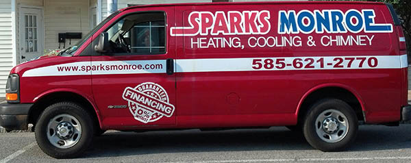 Sparks Monroe Heating & Cooling 24 hour emergency service coupon in Rochester New York
