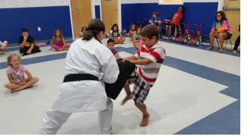 Kids Child Safety Class conducted by Sparta Karate Academy in Newton NJ