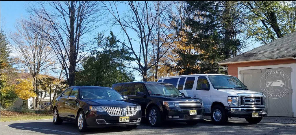 Some of our fleet at Sparta Limousine in Sparta NJ