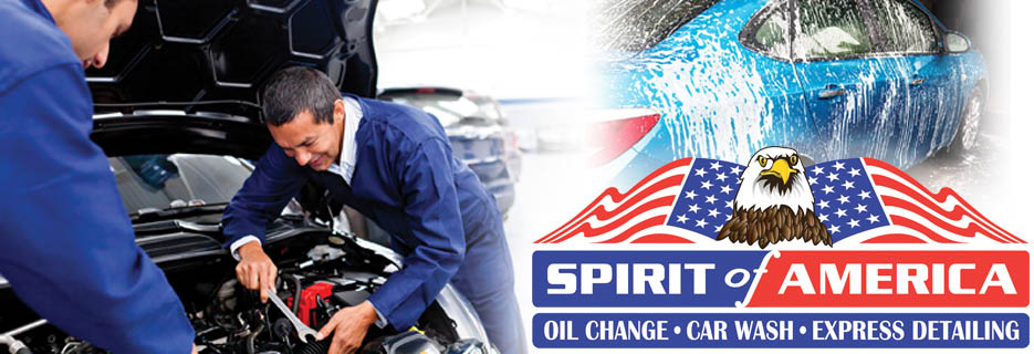 SPIRIT OF AMERICA - Oil Change, Car Wash & Detailing