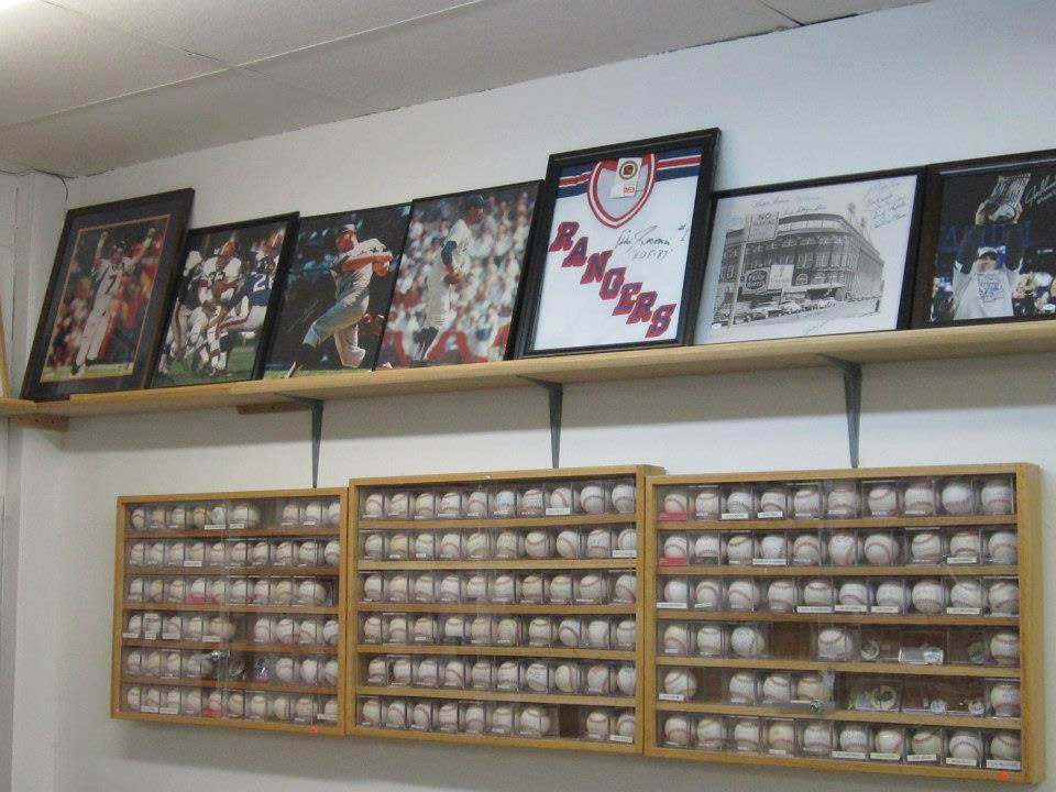 Huge Inventory of Memorabilia at Sports Page & MC Game Room in Randolph  NJ