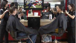 Sport Clips Haircut for men in Parkville, MD.