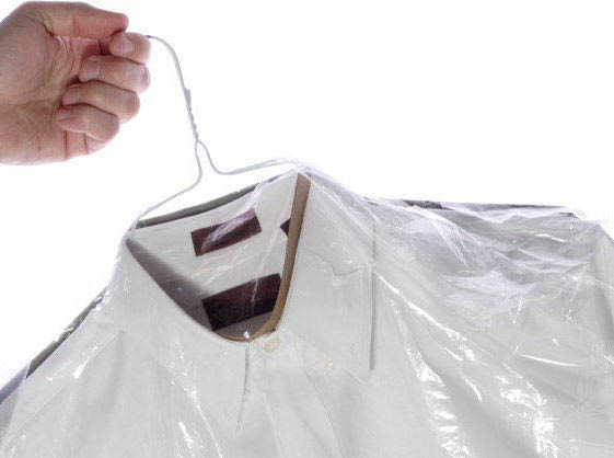 Dress shirts washed and ironed