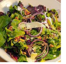 Salad from Spring Street Pub & Grill in Newton NJ