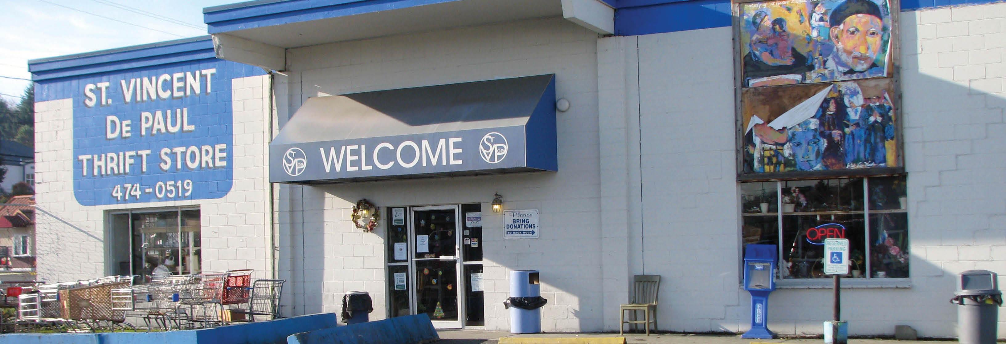 St. Vincent de Paul Thrift Stores main banner image - Tacoma, WA - Puyallup, WA