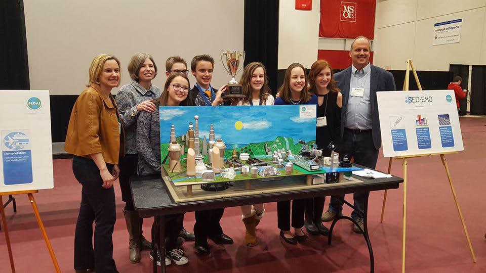 St. Alphonsus Parish and School MSOE Future City Competition