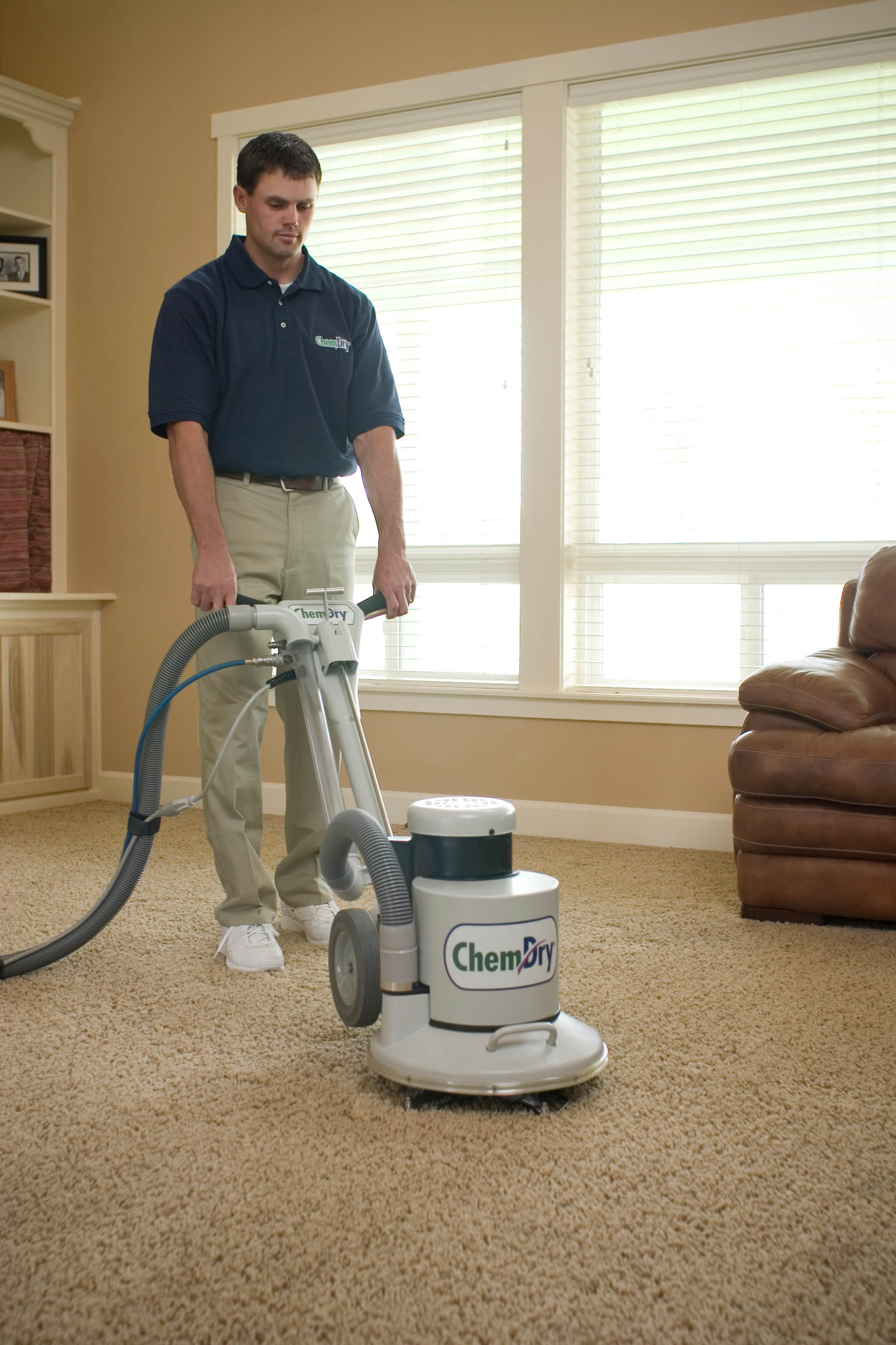 Our proprietary carpet cleaning methods are 100% green