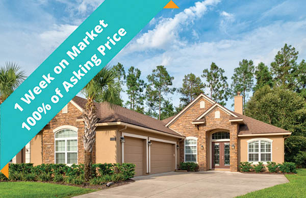 staged to sell home sold