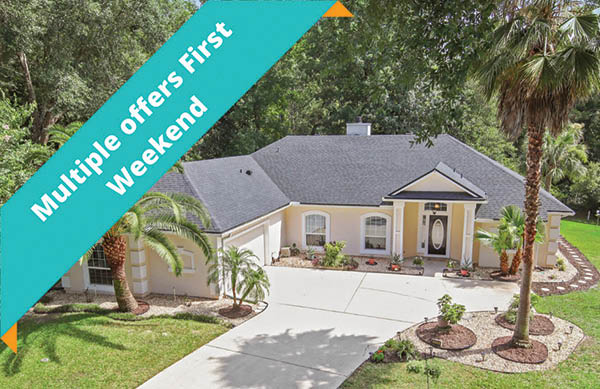 multiple offers on listed home