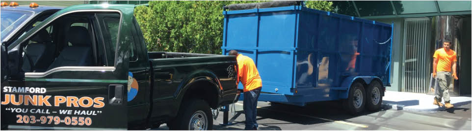 Junk removal by Stamford Junk Pros