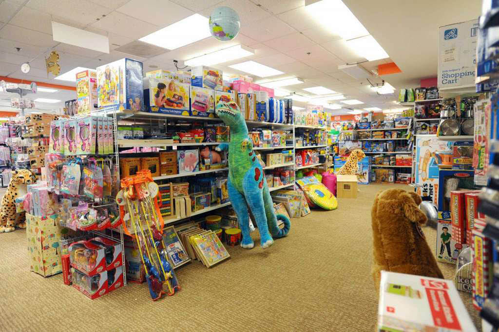 Stamford Toy Store big selection of toys