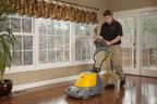 We offer hardwood floor cleaning & wood resurfacing