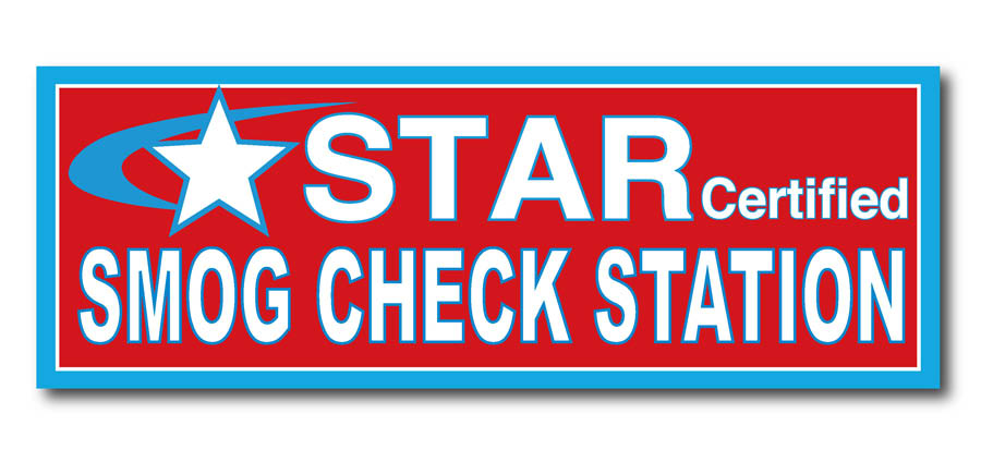 STAR-Certified Smog Check Station; emission testing in Hayward, Colma, and Fremont, CA
