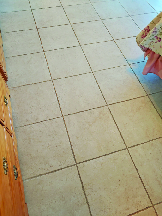 steamed clean tile cleaning service