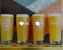 huge craft beer selection; beer on tap; draft beer