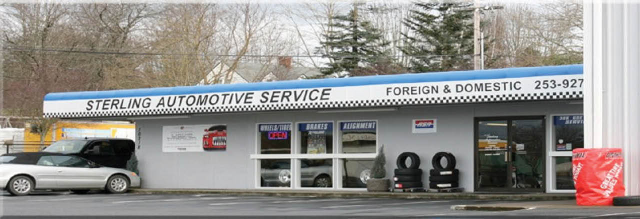Sterling Automotive Service Inc main banner image - Edgewood, WA