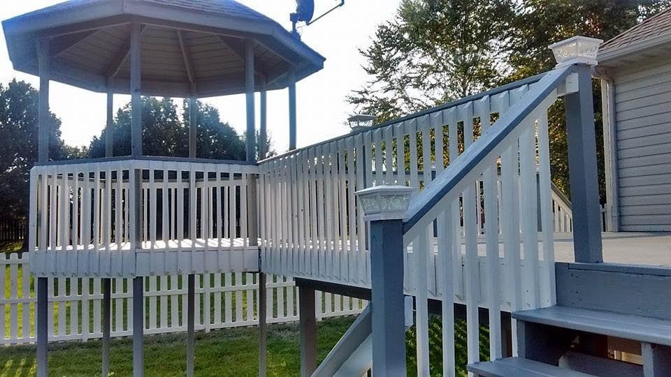 Deck plans, deck pain, near St Charles, MO