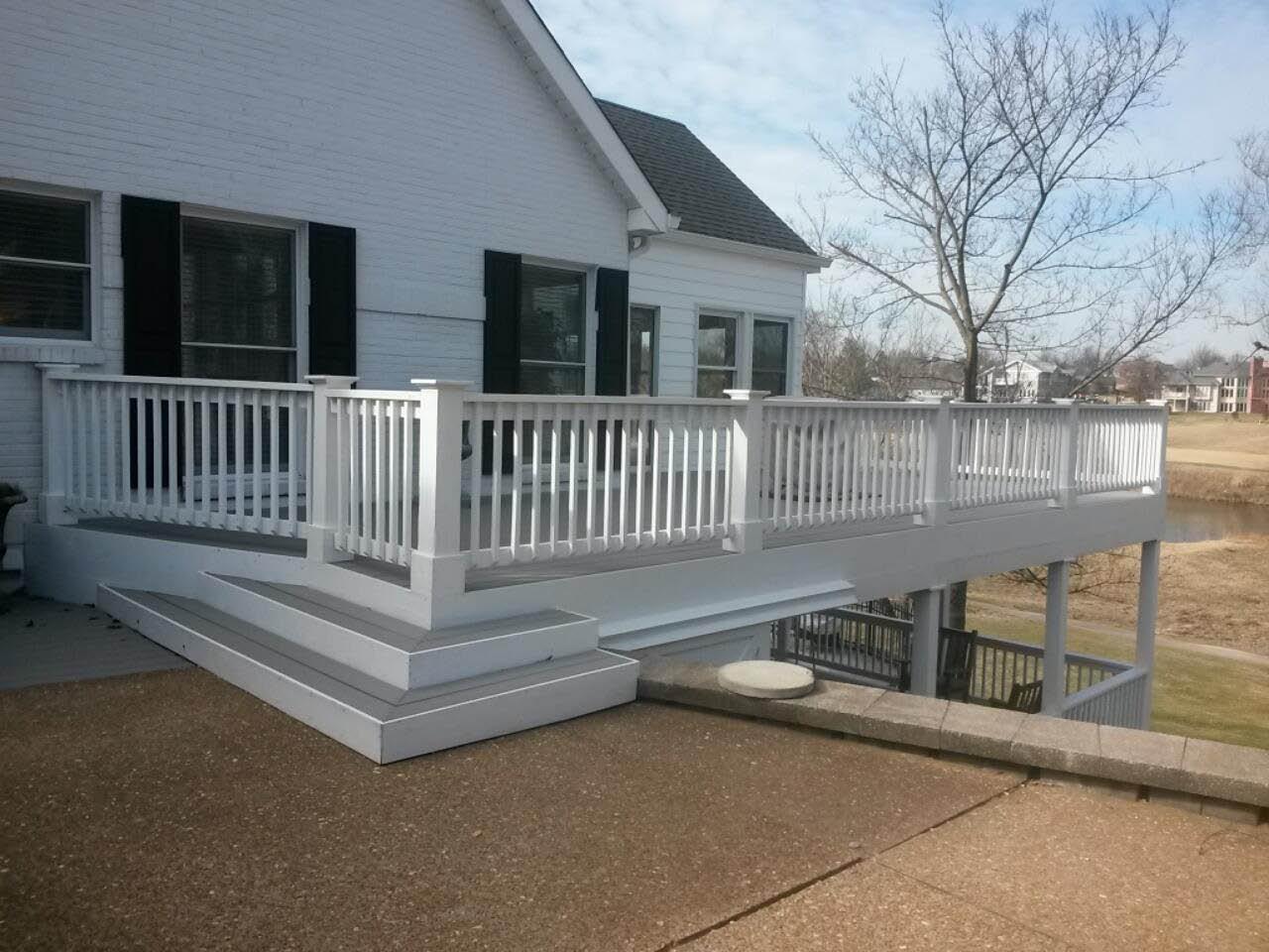 Deck designs, deck plans near St Louis