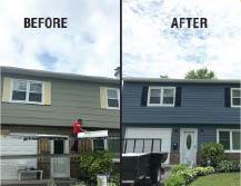 gutters, windows, doors, roofing