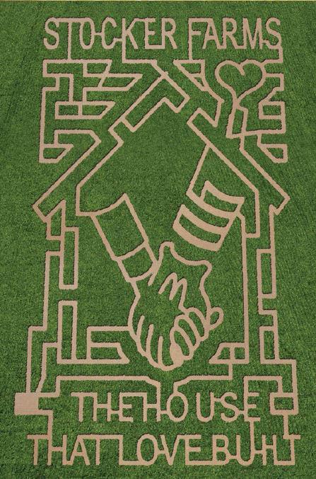 Stocker Farms Corn Maze - Snohomish, WA - corn maze in Snohomish, Washington - Family Adventure Farm