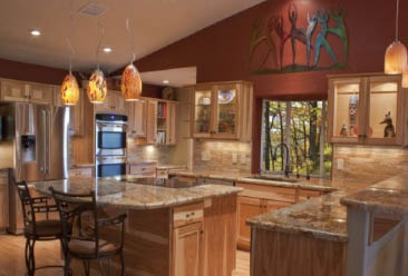 STONE CITY LLC modern kitchen remodel